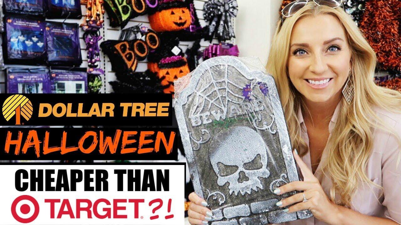 dollar tree halloween fall haul 2017 dollar tree shop with me - Dollar Tree Halloween
