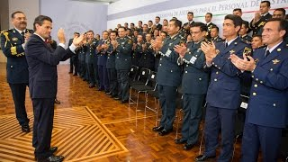 Ceremonia de ascensos del Estado Mayor Presidencial