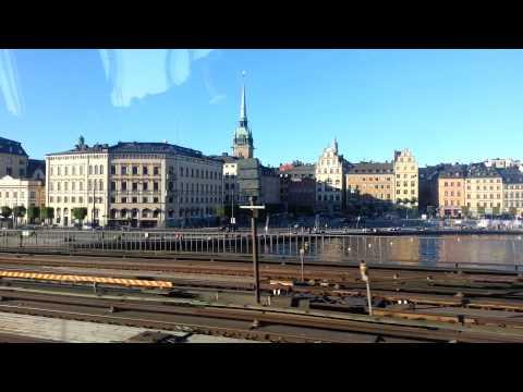 Gamlastan Stockholm Sweden in metro