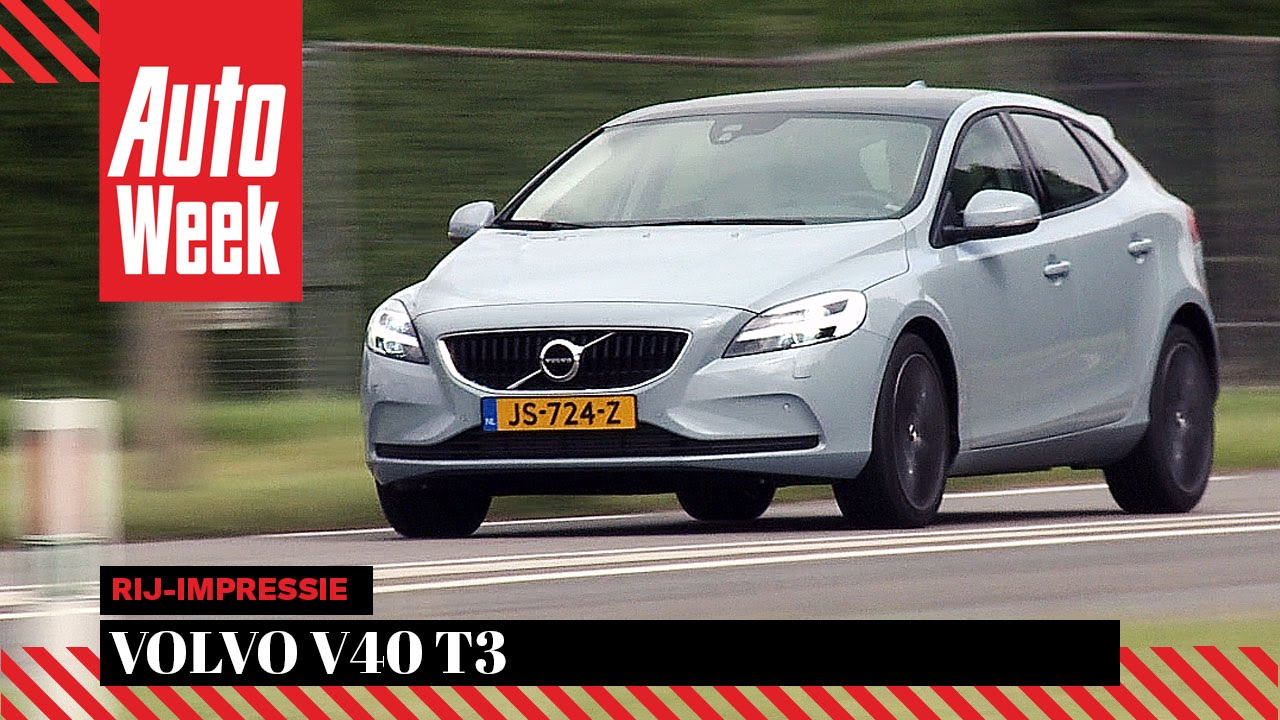 Volvo V40 T3 - AutoWeek Review - YouTube