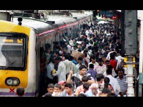Life of Common Man in Mumbai Local Train Railway Compilation India 2014 [HD VIDEO]