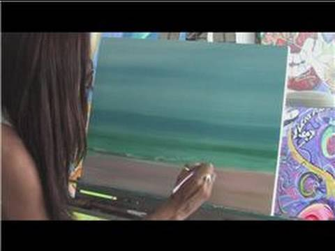 How To Paint A Beach Scene With Acrylics