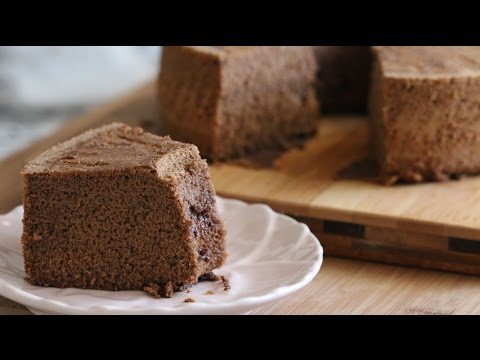 Mocha Chiffon Cake (Banh Bong Lan Mocha) Recipe