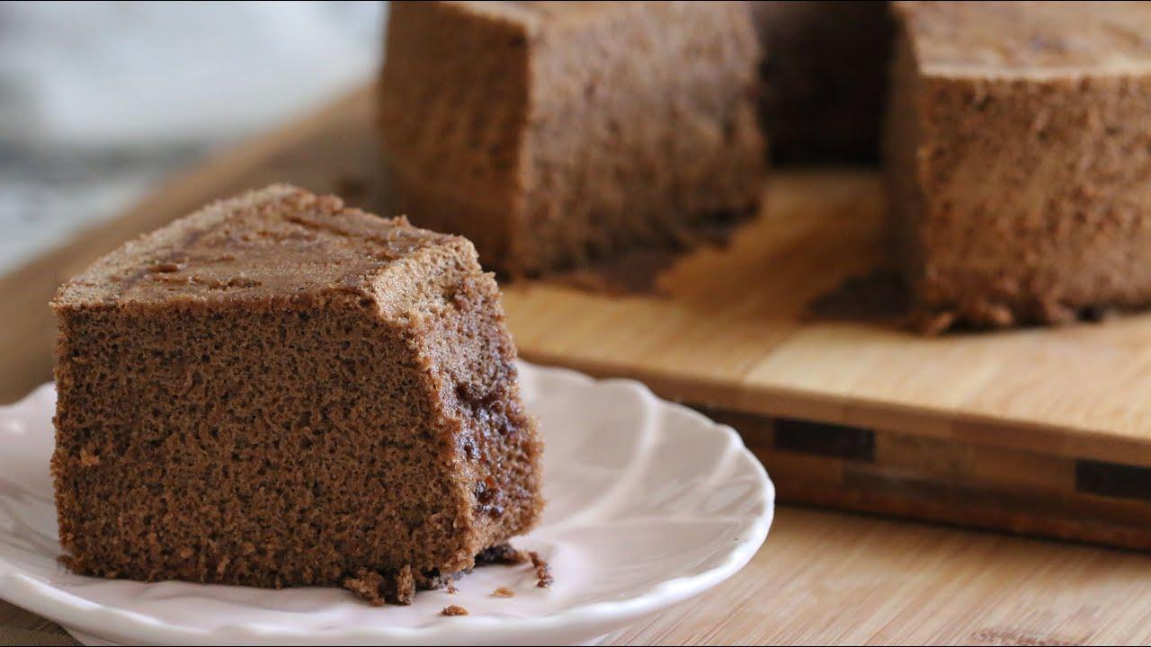 Mocha Chiffon Cake Banh Bong Lan Mocha Recipe