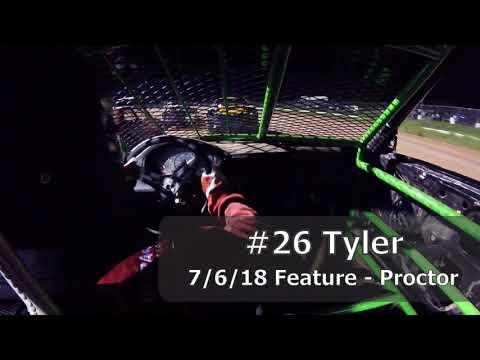 7/6/18 #26 Proctor Hornet Heat & Feature (In Car)