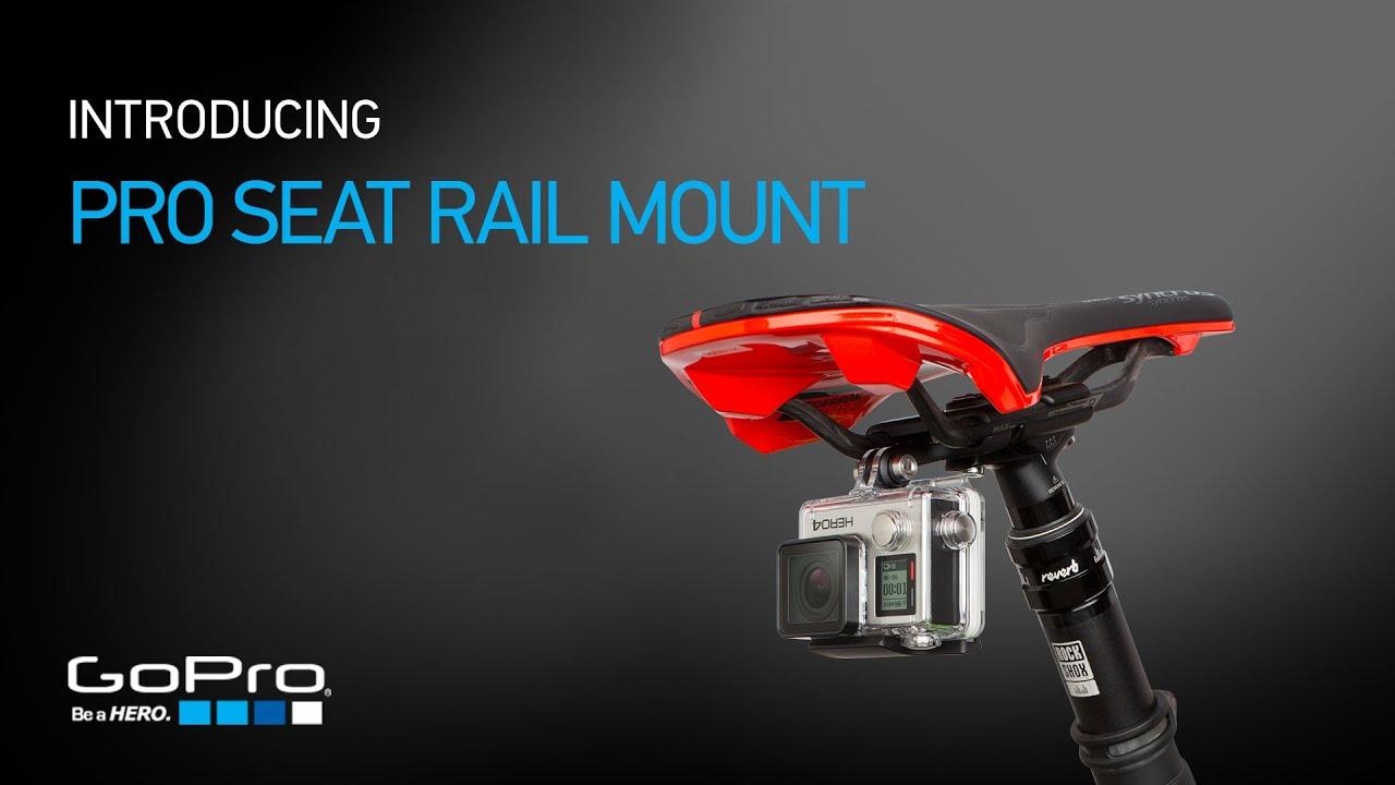 Gopro Introducing Pro Seat Rail Mount Youtube Telkomsel 17 Hero Session