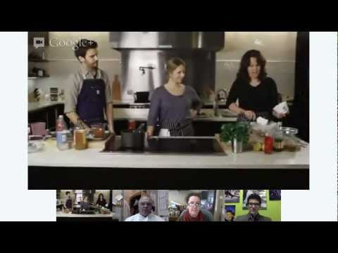 Bon Appetit Test Kitchen live hangout in the bon appetit kitchen: holiday cooking demo