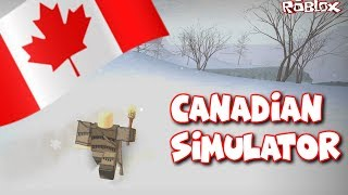 The Canadian Simulator | Roblox Northern Frontier