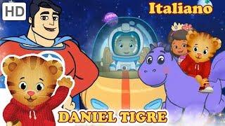 Daniel Tiger in Italiano 🏰📚 Un Mondo di Libri! | Video per Bambini