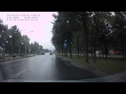 2013 08 28 Новополоцк дтп ул Калинина