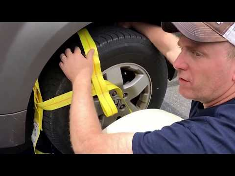 How to load a Master Tow dolly RV car trailer Call 717-507-2365