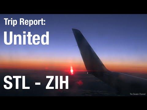 TRIP REPORT - United (ERJ-145), St. Louis to Ixtapa, MX