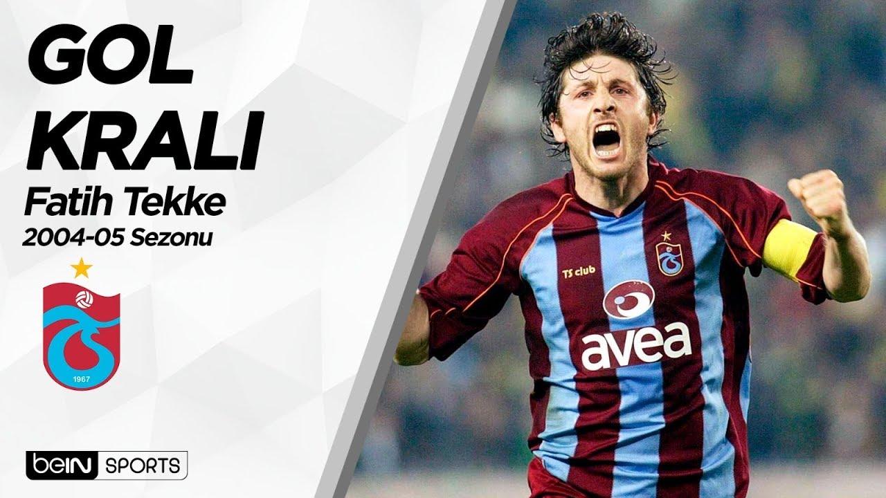 Süper Lig'in Gol Kralları | 2004-05 | Fatih Tekke