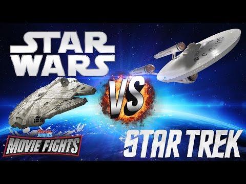 Star Wars vs Star Trek! - MOVIE FIGHTS!!