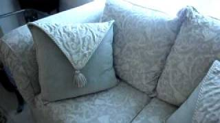Craigslist Posting: Beautiful Living Room Set -- $1,400.00 --