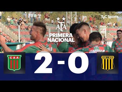 Agropecuario 2 vs. Mitre (SdE) 0 | Fecha 20 | Primera Nacional 2019/2020