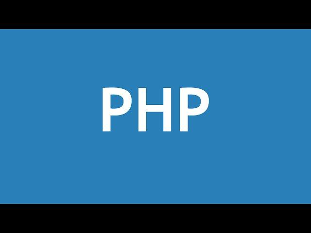 Learn PHP 5 In Arabic