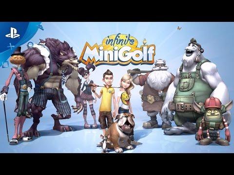 Infinite Minigolf - Announcement Trailer | PS4, PS VR