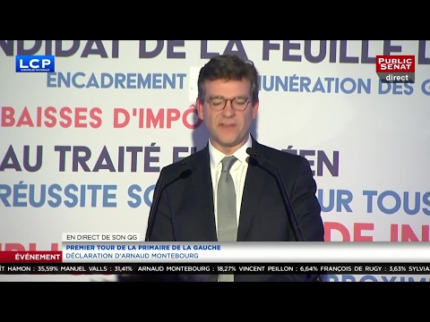 REPLAY. Arnaud Montebourg appelle à voter Benoît Hamon