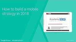 How to Build a Successful Mobile Strategy in 2018 - AUNZ Academy on Air (09.08.18)