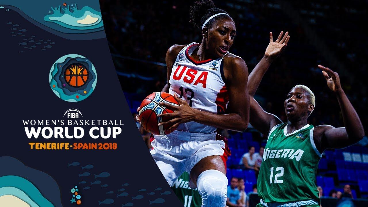 USA v Nigeria - Full Game - Quarter-Final