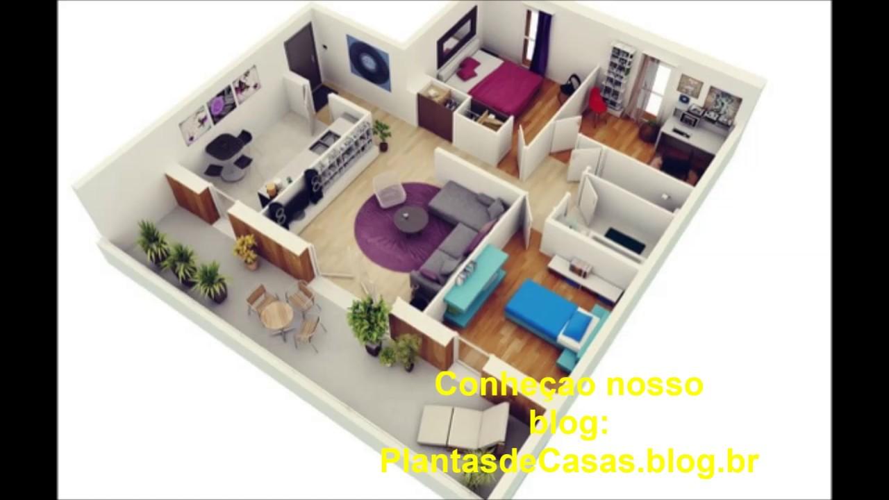 Plantas De Casas 3d Youtube
