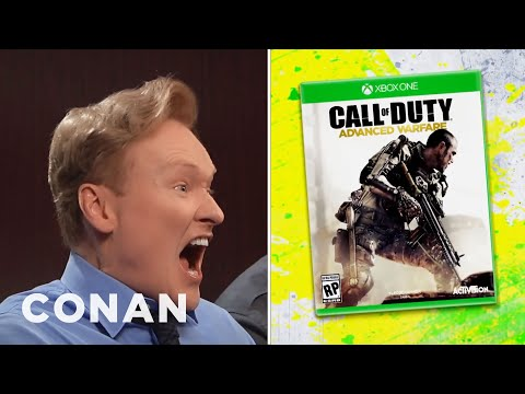 "PREVIEW: ""Call Of Duty: Advanced Warfare"" Clueless Gamer  - CONAN on TBS"
