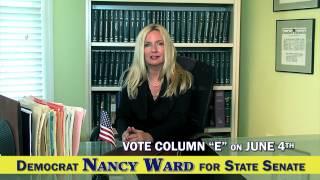 Democrat NANCY WARD for NJ State Senate - TV Commercial