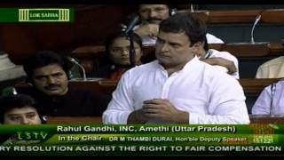 The govt is anti-farmers,wants to give the land to crony capitalists :Rahul Gandhi