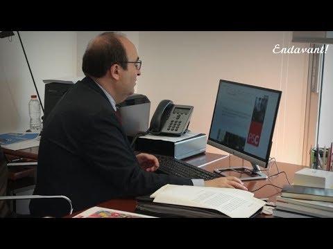Miquel Iceta presenta l'Endavant! diari digital