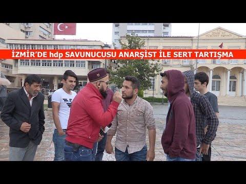 İZMİRde hdp Savunucusu Anarşist Genç ile Tartışma
