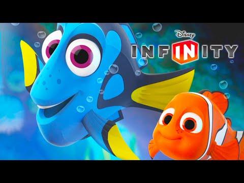 ALLA RICERCA DI DORY NEMO Video di Giochi di Cartoni Animati in Italiano per Bambini Disney Infinity