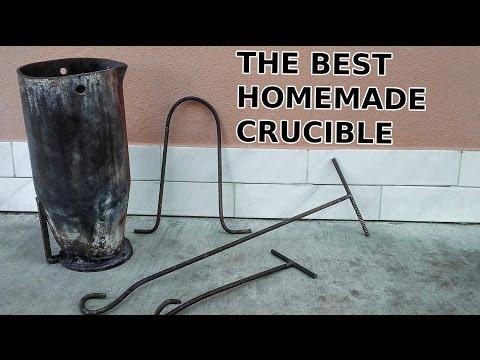 Homemade Heavy Duty Crucible For Aluminum Casting