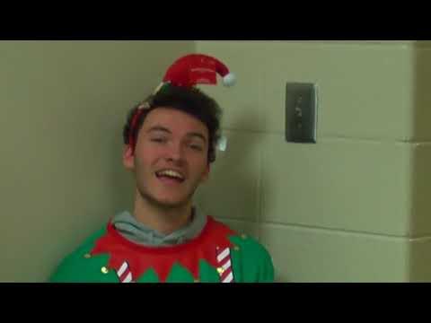 Holiday Video 3rd Elf Shower Scene