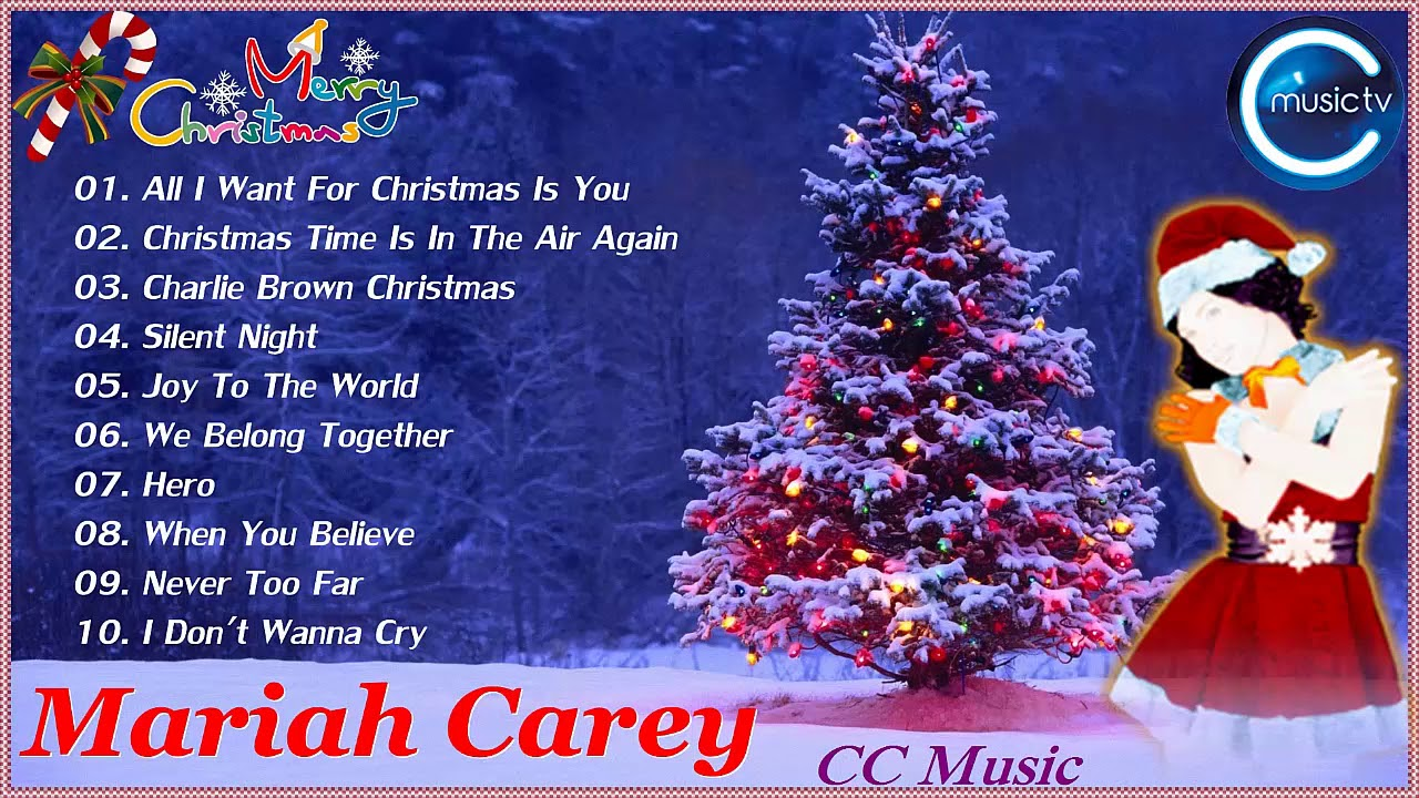 Mariah Carey Top 10 Ch... Mariah Carey Christmas Songs
