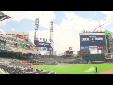 Behind Atlanta's new baseball stadium