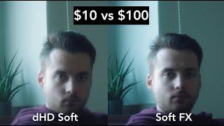 $10 Soft Diffusion Filter vs $100 Tiffen Soft FX 3 - Review and Comparison screenshot 3