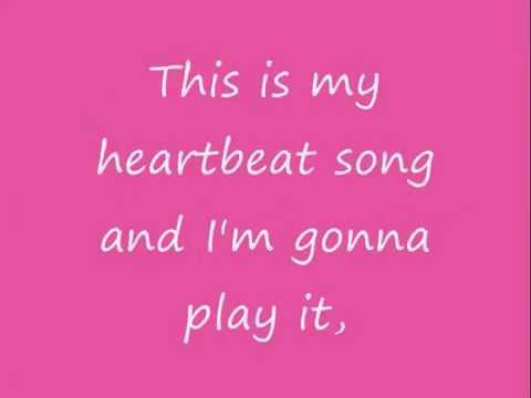 Heartbeat Song - Kelly Clarkson Lyrics