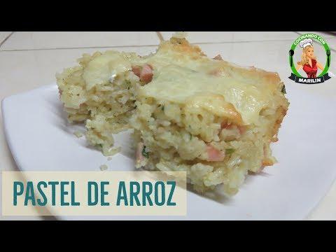Pastel de arroz casero | Receta rápida paso a paso