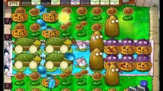 Plants  vs. zombies survival endless mixed setup 2 (6 cobs +cobless)