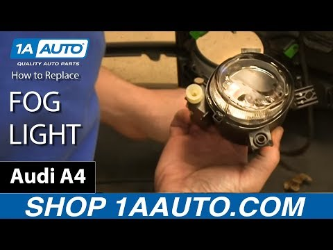 How To Install Replace Fog Light Assembly 2005-08 Audi A4