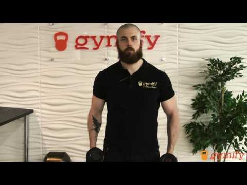 Alternating Hammer Curls - Stronger Bicep and Forearm - Arms