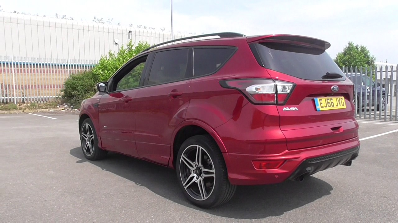 ford kuga st line tdci 4x4 u112719 youtube. Black Bedroom Furniture Sets. Home Design Ideas