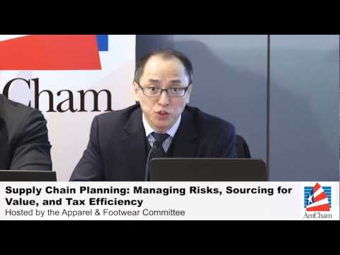 Supply Chain Planning: Managing Risks, Sourcing for Value, and Tax Efficiency, Feb 12