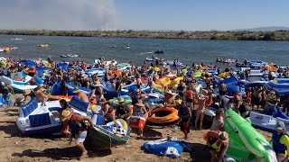 9TH ANNUAL BULLHEAD CITY AZ RIVER REGATTA 2015 TUBE FLOAT