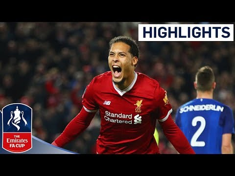 Van Dijk Wins it for Liverpool on his Debut! | Liverpool 2 - 1 Everton | Emirates FA Cup 2017/18
