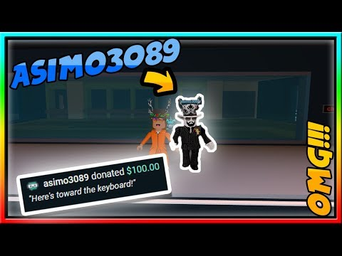 THE CREATOR OF JAILBREAK JOINED MY STREAM AND DONATED $100 USD!!! **NOT CLICKBAIT**