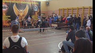 Чемпионат ЮФО по пауэрлифтингу завершился в Симферополе