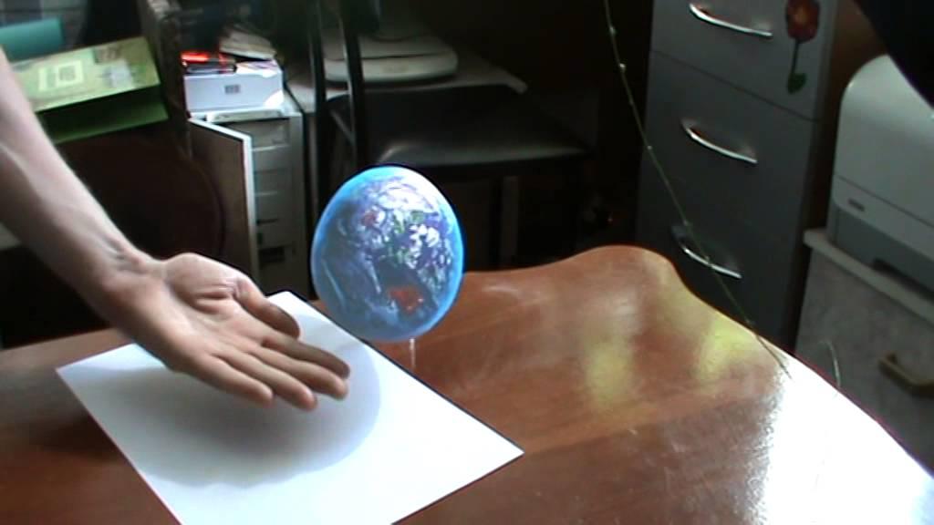 Иллюзии. Земля на ладони 3D картинки рисунки - YouTube