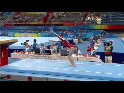 Yang Yilin - Vault - 2008 Olympics All Around